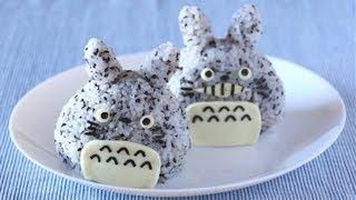 Totoro Onigiri (rice Balls) となりのトトロ おにぎり - Ochikeron - Create Eat Happy