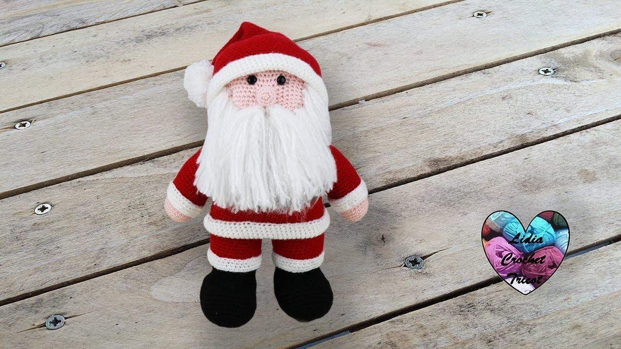 Père Noël Amigurumi Crochet Papa Noel Tejido A Crochet