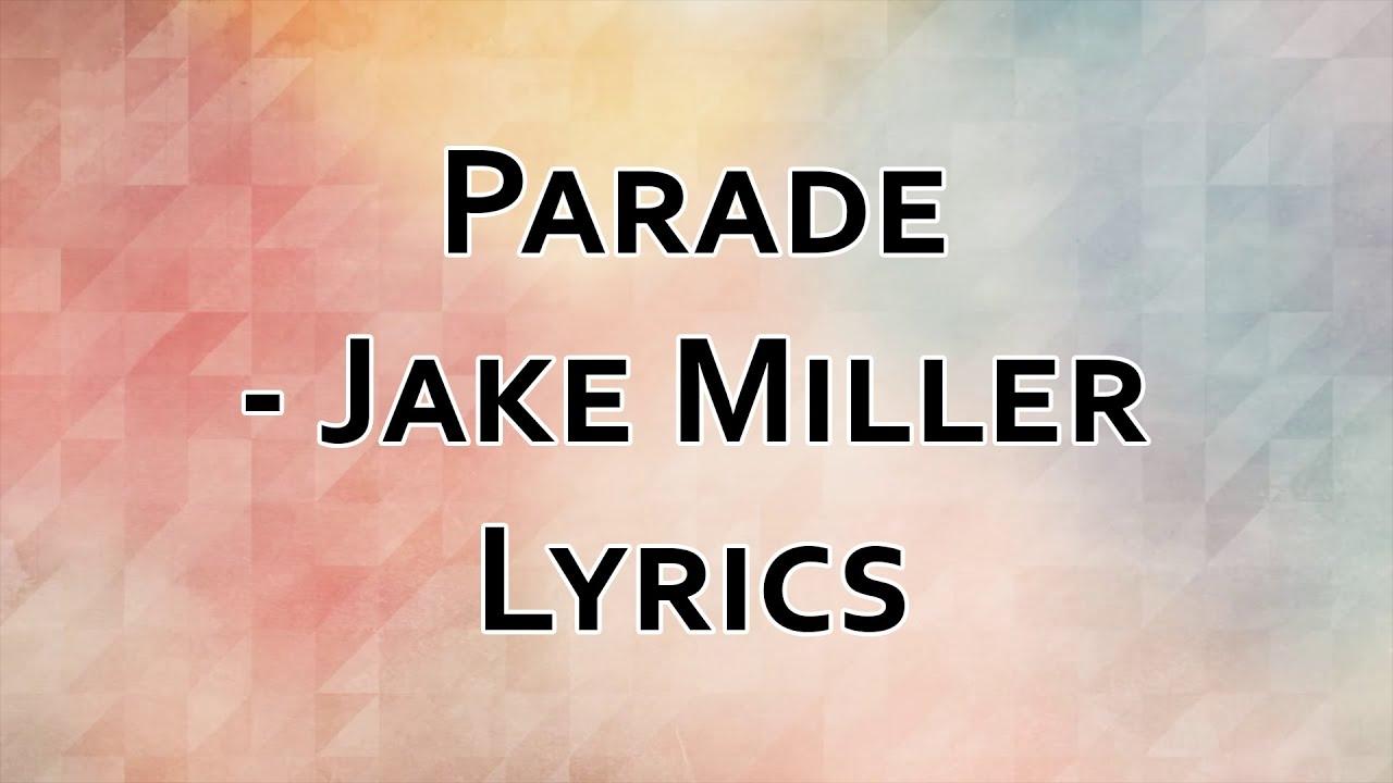 jake miller song lyrics - photo #13