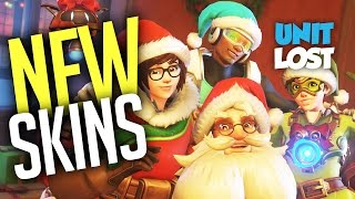 Overwatch - NEW CHRISTMAS SKINS! ALL Winter Wonderland SKINS and ITEMS!