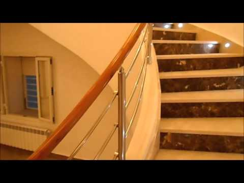 rampe d 39 escalier alluminox 97954184 youtube. Black Bedroom Furniture Sets. Home Design Ideas