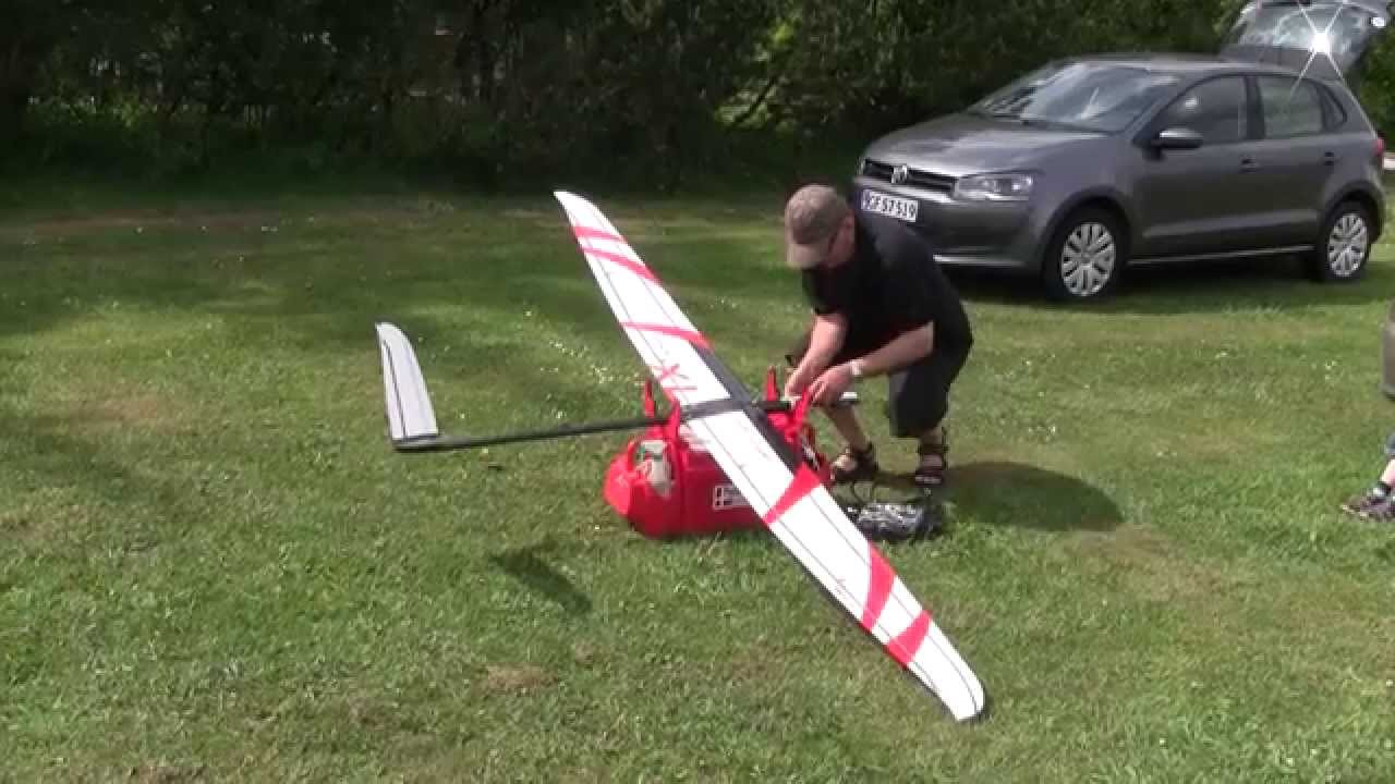 Erwin Xl Electric Ultralight Rc Glider Filskov