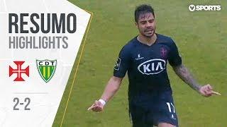 Highlights | Resumo: Belenenses 2-2 Tondela (Liga 18/19 #18)