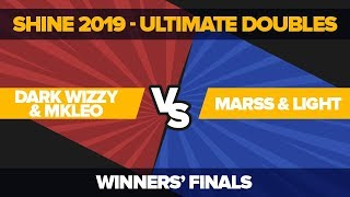 Dark Wizzy/mkleo Vs Marss/light - Winners' Finals: Ultimate Doubles | Shine