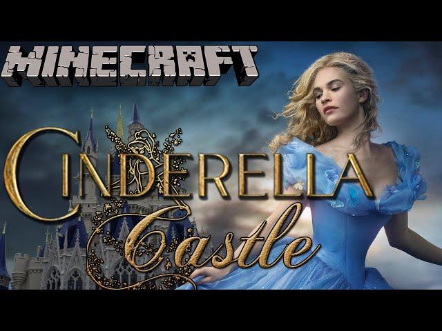 Cinderella Castle - Minecraft Lets Build (Full Disney Castle Build)