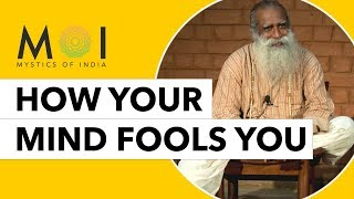 Stop Your Thoughts From Controlling Your Life By Sadhguru | Mystics of India