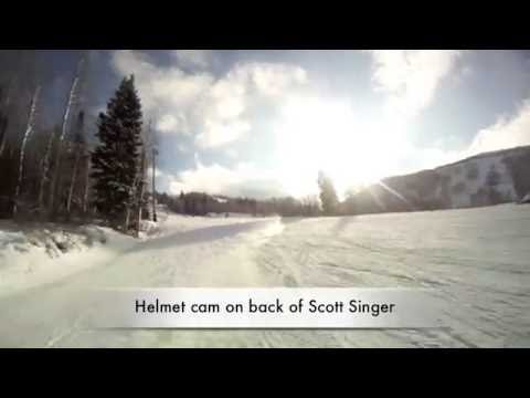 Snow Skiing in Park City, Utah - POV - Scott Singer