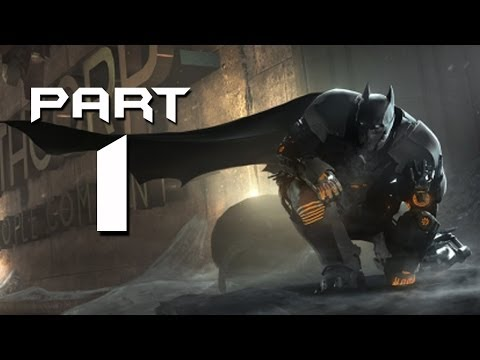Batman Arkham Origins Cold Cold Heart Walkthrough Part 1 - M
