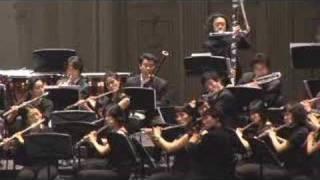 """Washington post March"" for flute choir"