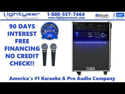 Youtube Karaoke Ready Digital Bluetooth Karaoke System With Pro Karaoke Mics Professional Karaoke ✅