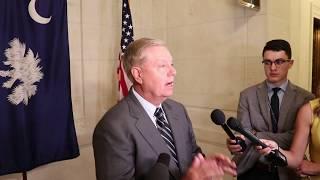 Graham Remarks on Robert O'Brien, Iran and more