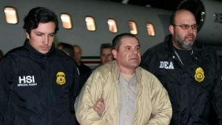 Repeat youtube video 'El Chapo' locked in NY jail that formerly held terrorists