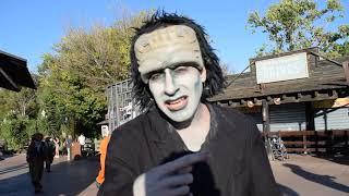 Helloween/ зомби парад в парке Port Aventura. Испания/Spain, 2019