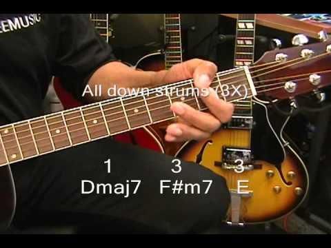 Zendaya REPLAY Guitar Lesson How To Play On Guitar EricBlackmonMusic
