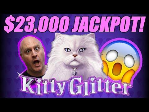 $23,000 Jackpot! | 30 FREE Games | Kitty Glitter Slots | The Big Jackpot