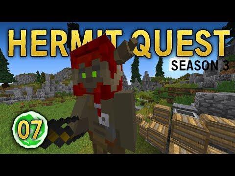 Hermit Quest 07   TACTICAL RETREAT!   Hermit Wars Season 3