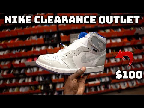 Nike Outlet Clearance Store Had SOLD OUT Air Jordan 1 For $100!