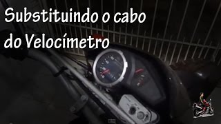 Substituindo o Cabo do Velocímetro - Motociclista Henrique