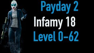 Payday 2 Infamy 18 | Part 1 | Level 0-62 | Xbox One