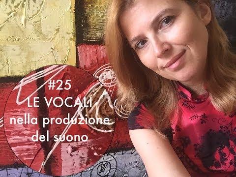 LEZIONE CANTO 25 - l'importanza delle vocali nella produzione del suono | TEORIA |  CORSO DI CANTO