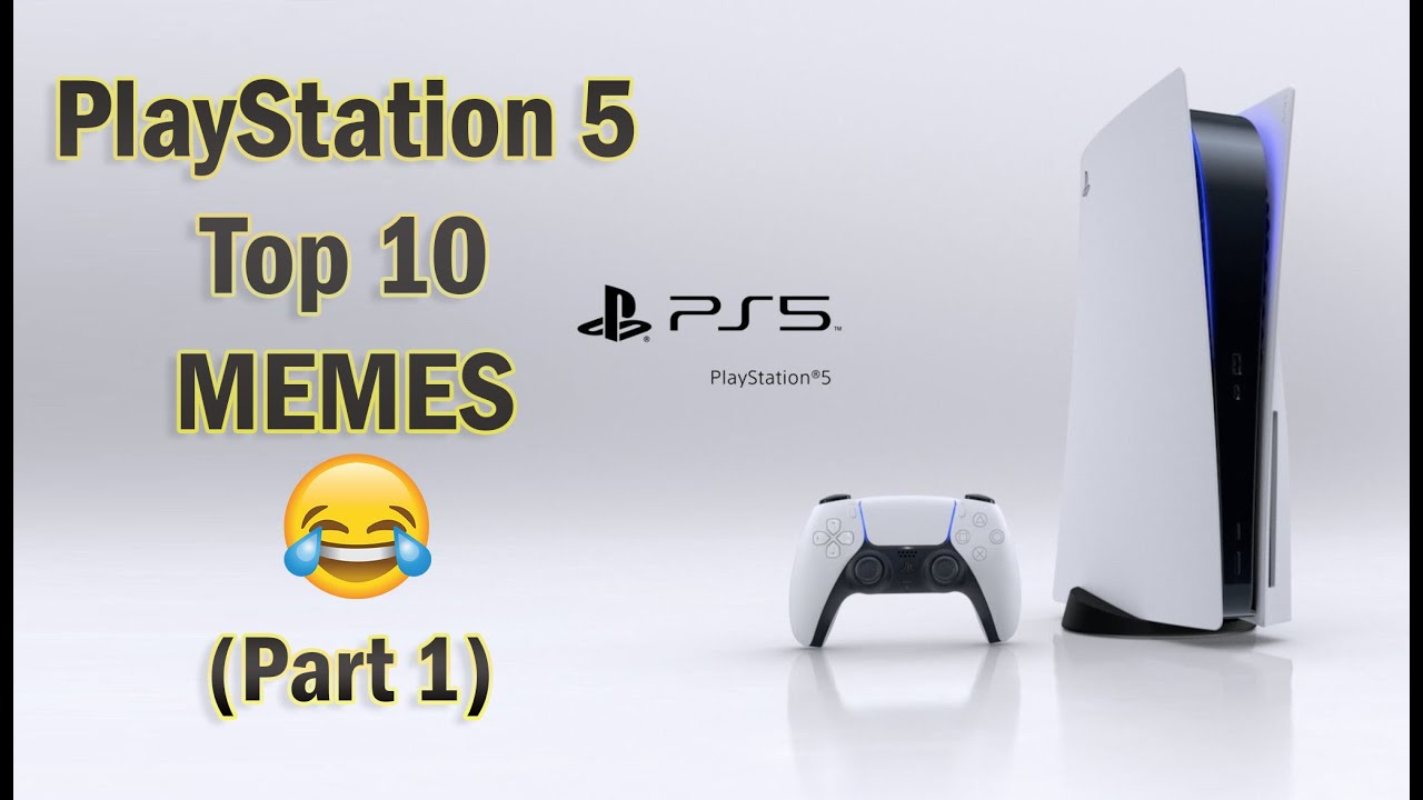 Playstation 5 Top 10 Memes Part 1 Ps5 Design Reveal 2020 Youtube