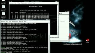 Hack WEP keys in Backtrack. Free internet forever