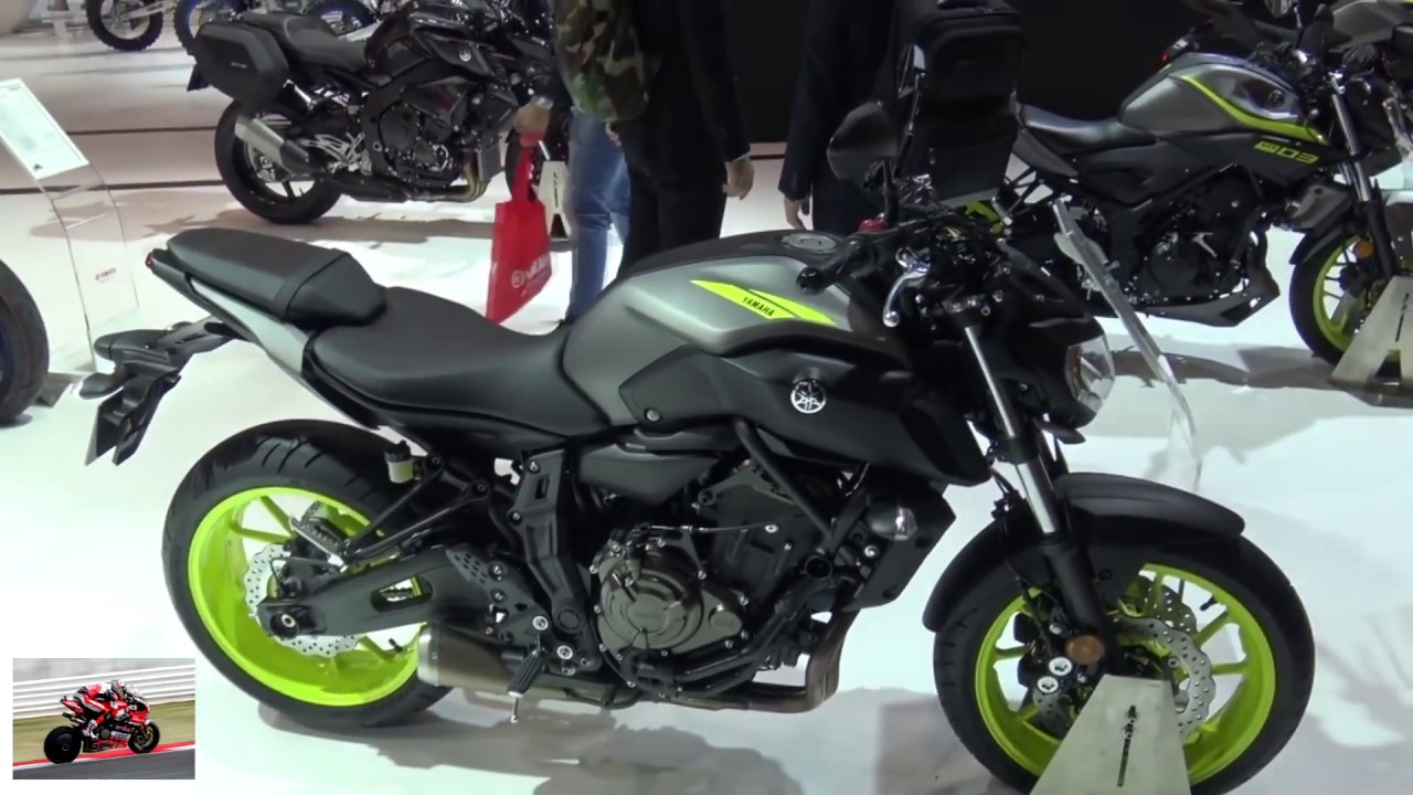 yamaha mt 07 2018 eicma 2017 new youtube. Black Bedroom Furniture Sets. Home Design Ideas