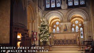 🎵 Bach - In dulci jubilo BWV 729 | Organ of Romsey Abbey (3-manual 1858 Walker!)