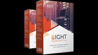 Eight Webhosting Demo – Get 8 Years of Web Hosting for The Price of 1