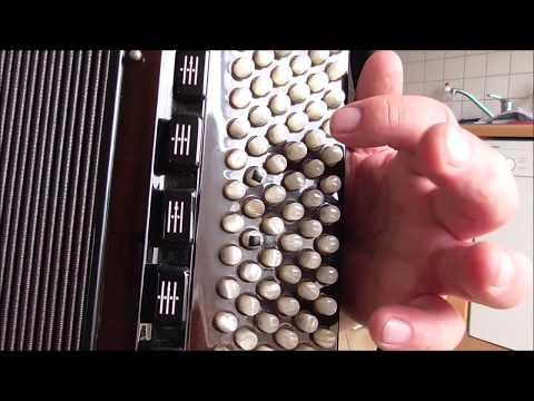 Видеоурок на баяне прощание славянки