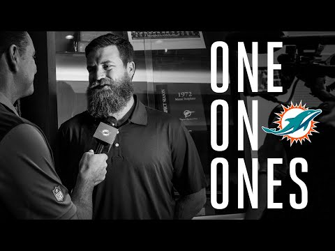 One-on-one with Ryan Fitzpatrick | Miami Dolphins
