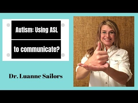 Autism: Using Sign Language To Communicate Needs | ASL Expression  Functional Communication