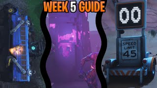 Fortnite Season 6 Week 5 Challenges Guide | Radar Sign Locations | All Flaming Hoop Locations