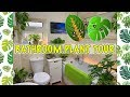 My Tropical Houseplant Bathroom Tour 🌴🐠🛀🌿