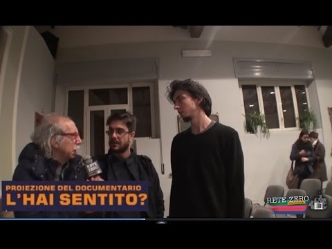 GIULIO FEDRI E MATTEO PIRAS - PROIEZIONE DEL DOCUMENTARIO
