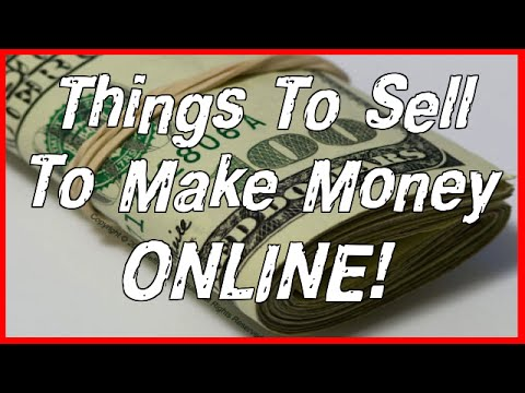 Things To Sell To Make Money Online - Keep 100% Profit! - YouTube