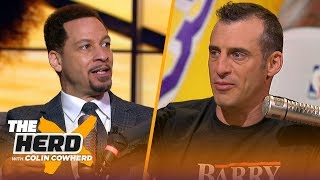 The Clippers looked tremendous, talks Giannis vs LeBron for MVP — Chris Broussard | NBA | THE HERD