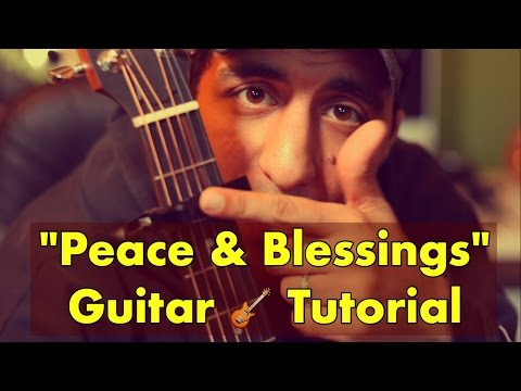 """Peace and Blessings"" Raef Guitar Tutorial"