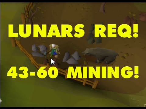 Not This Again...43-60 Mining! Lunar Quest Req!