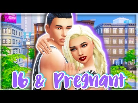 16 & PREGNANT👶🏻🍼 | THE SIMS 4 | Part 4 - On Their Own & Pool Day