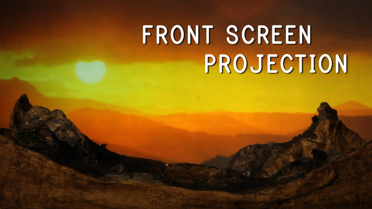 FRONT SCREEN PROJECTION