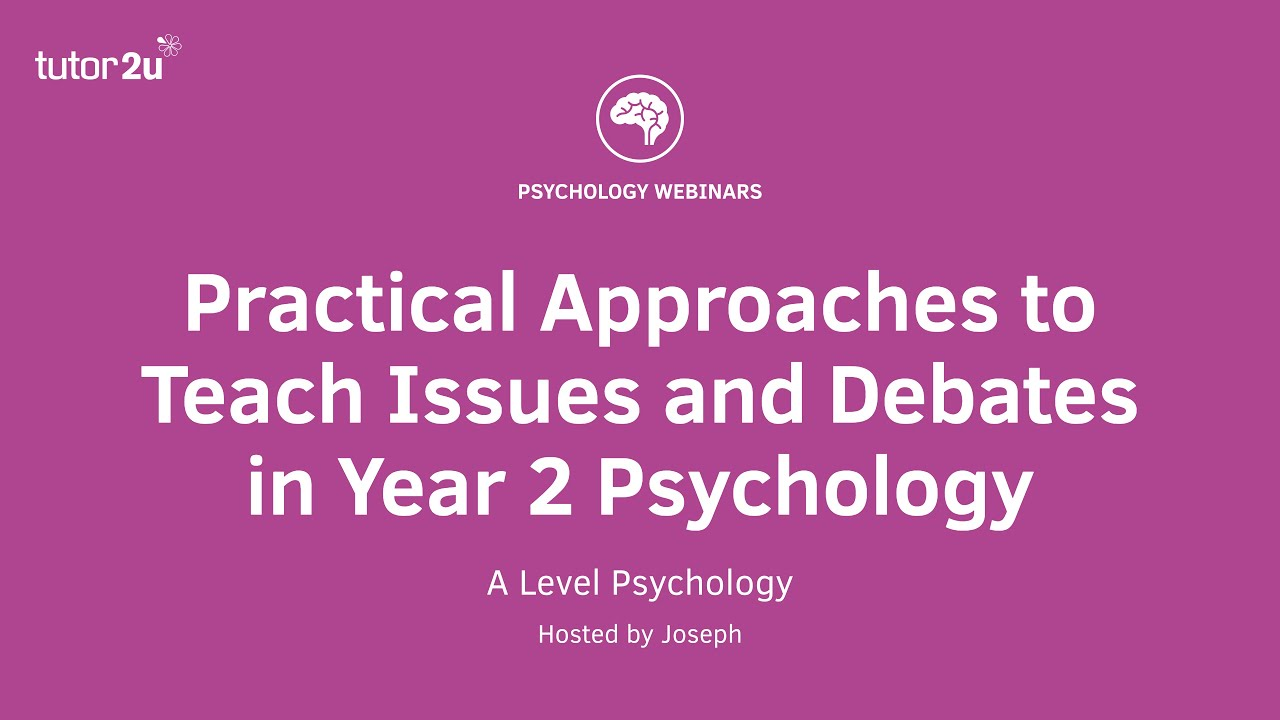 CPD Webinar: Practical Approaches to Teach Issues and Debates in ...
