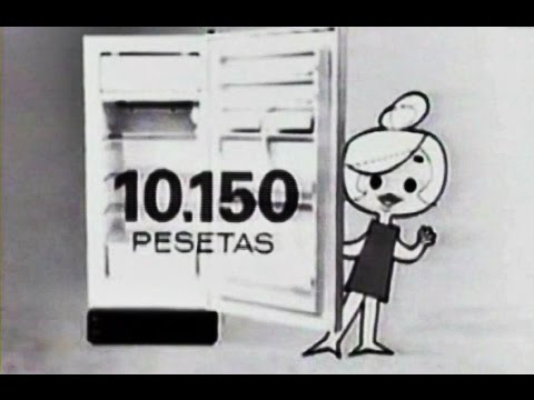 1964 Frigorífico Aitona Nevera Publicidad España Spain Anuncio Ad Commercial Animación