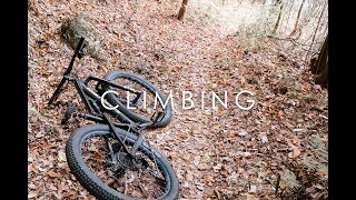 フルサスマウンテンバイクで坂を登るとどうなるのか?