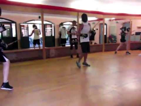 Escrima lesson and sparring