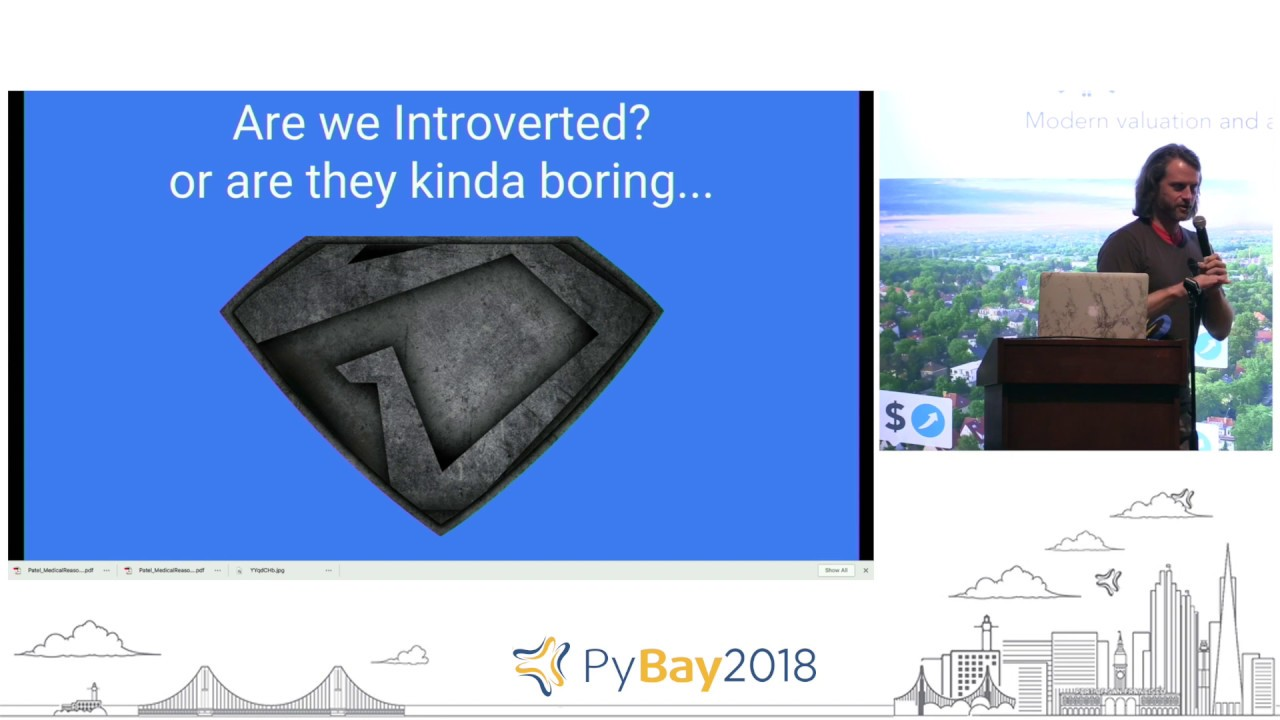Image from Lightning Talks Day 3 Round 1 @ PyBay2018