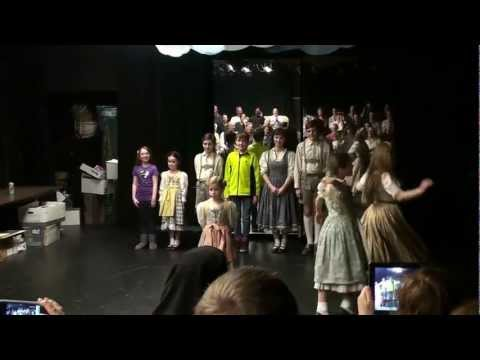 Sound of Music 2012 - Papermill Playhouse - Von Trapp final cast Farewell!