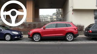 Skoda Karoq: Park Assist - real life test :: [1001cars]