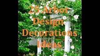 Garden arbor design decorations ideas doesn