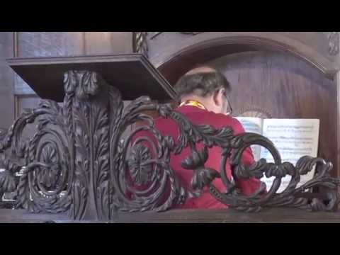 Willem van Twillert plays, Mateo Albeniz (1755–1831) Sonata in D, Magnuskerk Bellingwolde